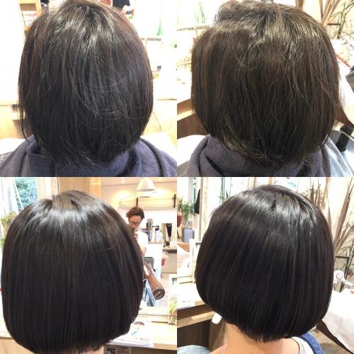 おすすめ人気ストレートツヤ髪型調布美容院