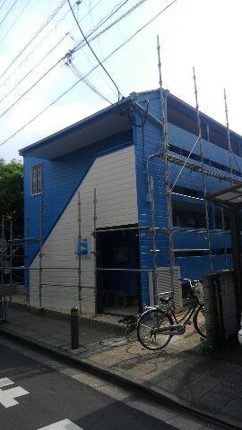 足立区、コ-ポ、外壁、塗装