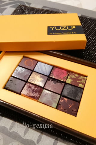 いただきもののベルギーチョコレート