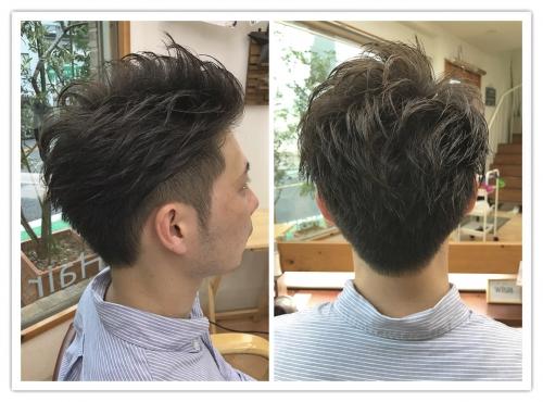 メンズツーブロックヘア☆ 調布美容院