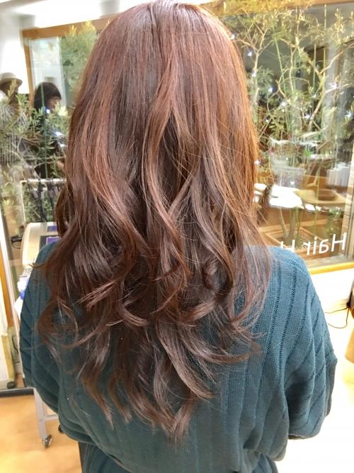 コテ巻き髪型おすすめ人気ヘアスタイル調布