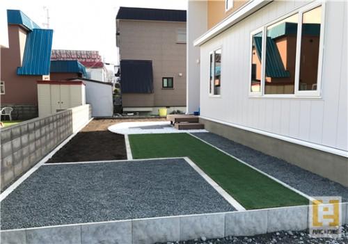 新築注文住宅外構工事もお任せ♪家族で楽しむお庭づくり♪