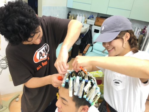 パーマ人気ですおすすめヘアスタイル調布美容院