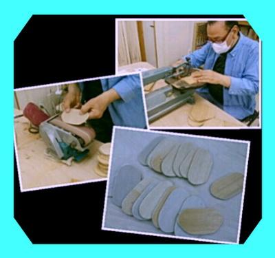 陶芸教室 国立けんぼう窯 集中講座のための道具作り。