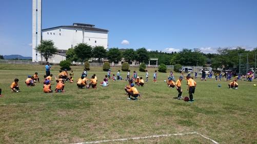 サッカースクール 試合