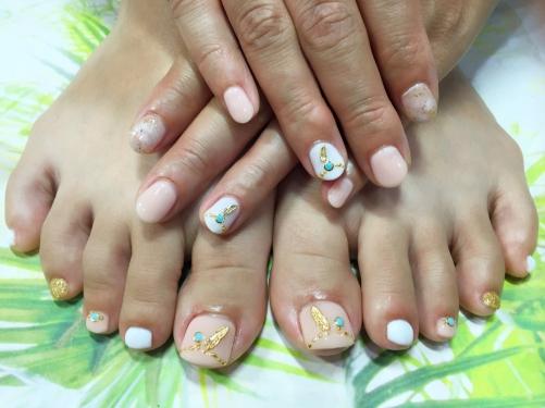 Hand&Footお揃いデザイン♪