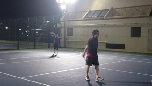 テニスをしてきました
