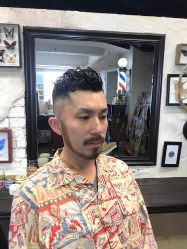 メンズヘア メンズパーマ 新潟 理容室