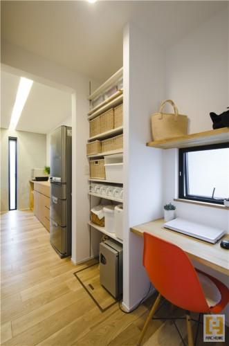 整理収納の話「無駄なスペースを有効に活用する収納」