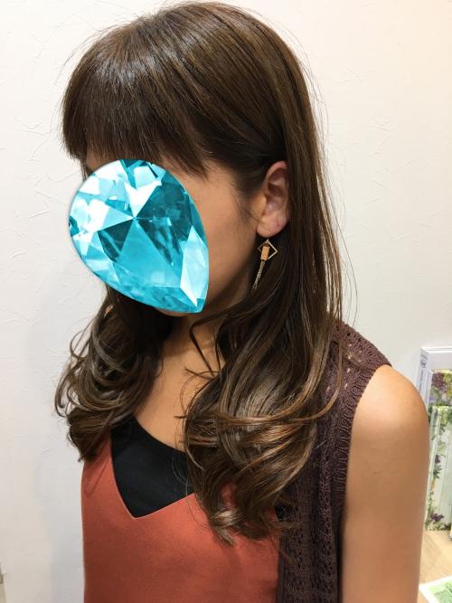 人気おすすめカラーアッシュ髪型調布美容院