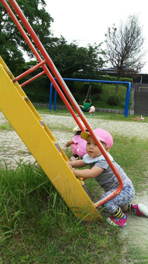 楽しい遊び見〜つけた!公園って楽しいところだね☆
