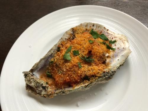 岩牡蠣のオーブン焼き