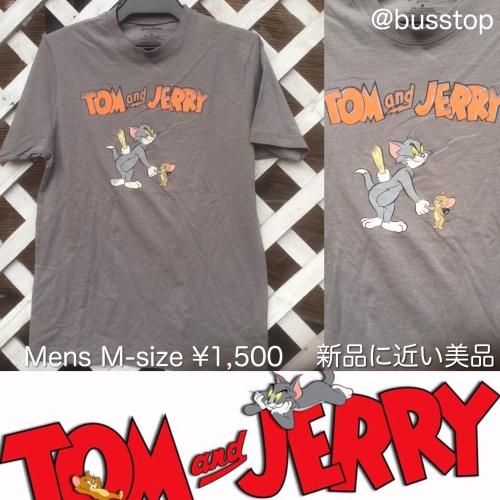 トムとジェリーメンズTシャツMサイズ