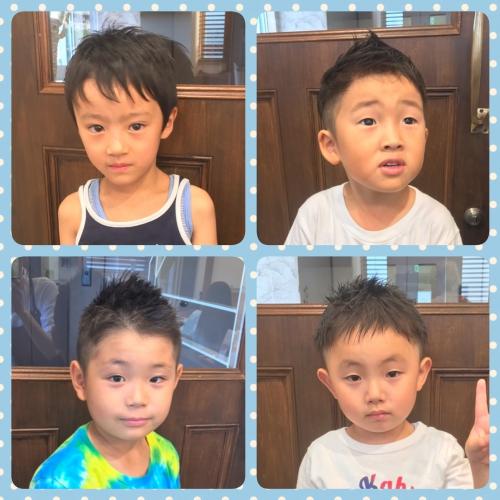 キッズカット キッズ 子供 男の子 髪型 ヘアスタイル