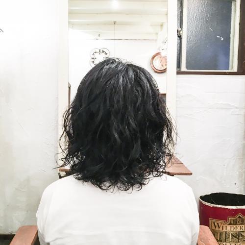 代官山美容室 パーマ スタイリング楽チン♪ JET