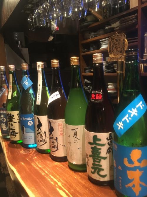 今週入荷の日本酒(山本・大信州・玉川・石鎚)