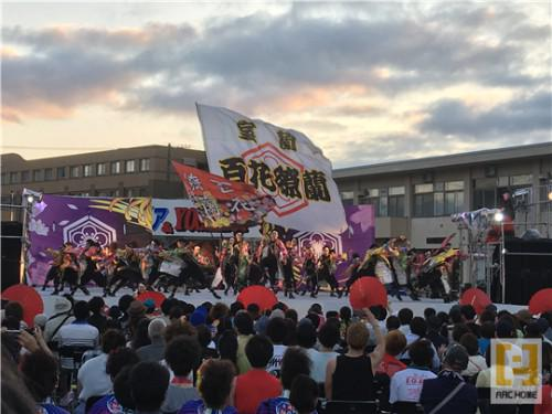 YOSAKOI! 室蘭 百花繚蘭 優勝おめでとう!