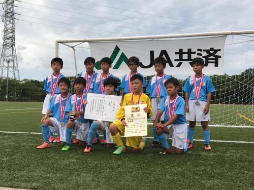 U-10学年別県大会準優勝!!