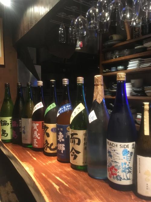 今週入荷の日本酒(新政・而今・久礼・賀儀屋・鍋島)