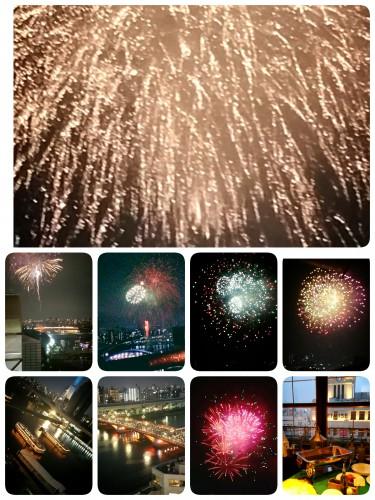 隅田川花火大会楽しかったですよ♪