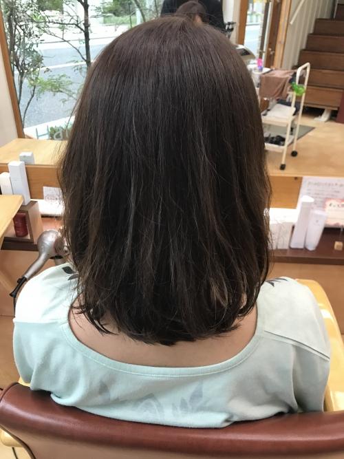 パーマヘアスタイルでゆるい質感に☆ 調布美容院