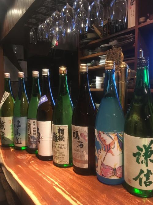 今週入荷の日本酒(謙信・鳴海・北安大国・開運)
