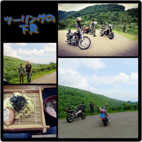 ツーリングの下見〜バイクで会津〜暑かった