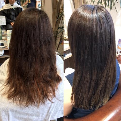 おすすめ人気カラーロングヘア髪型調布美容院