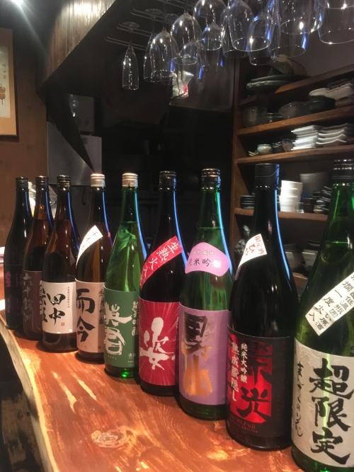 今週入荷の日本酒(栄光富士・姿・而今・鍋島)