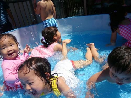 みんな元気に登所してくれて嬉しい!プール遊びしたいね!!