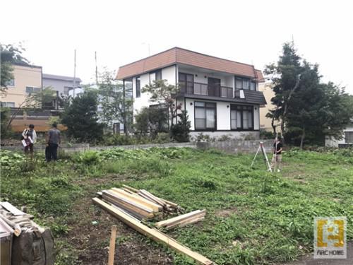 アークホームメンバーしっかり新築注文住宅建築現場確認します!