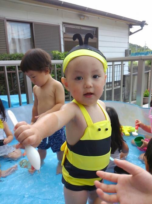 夏はやっぱり水遊び!おもしろ水着、楽し〜い☆