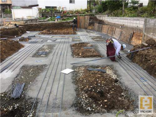 ☆新築戸建物件☆札幌市建築中現場情報を更新!鉄筋工事♪
