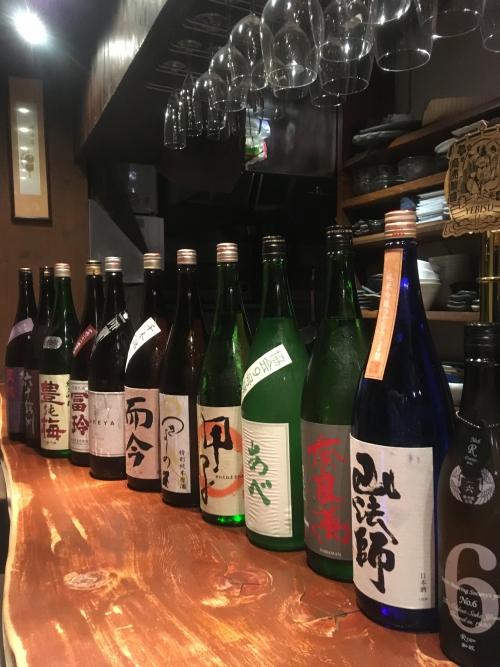 今週入荷の日本酒(新政・奈良萬・而今・天吹)
