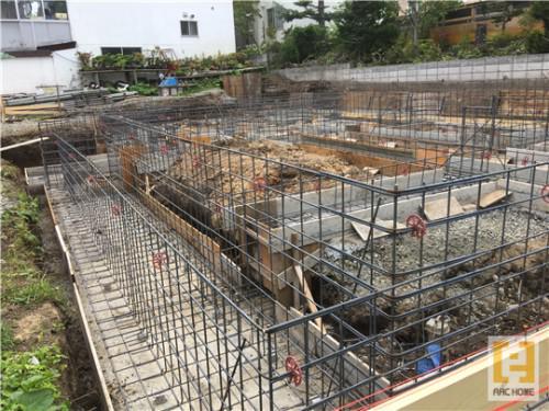 ☆新築戸建物件☆札幌市建築中現場情報を更新!ベース枠組立工事