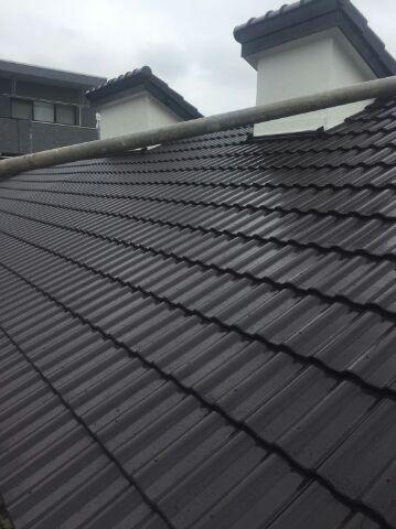 千葉県、流山市、屋根、塗装