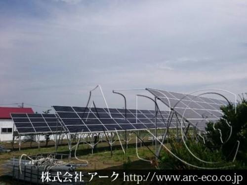 江別市に低圧太陽光発電システム設置完了!