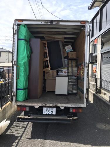 さいたま市 トラック お引越しサポート実行!