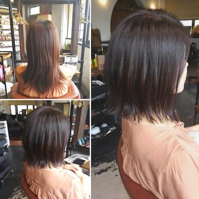 髪が多い、ハネる、膨らむの悩みをなくすボブスタイル
