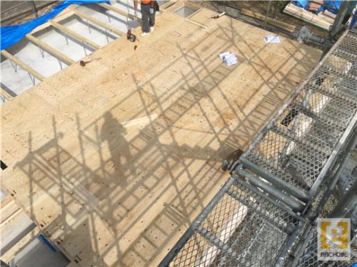 ☆新築戸建物件☆札幌市建築中現場情報を更新!床合板張り♪