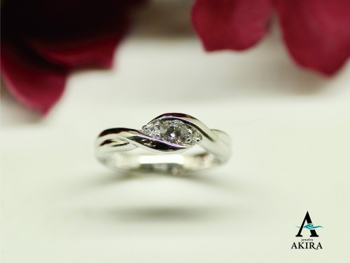 持込のダイヤモンドでのジュエリーオーダーメイドです