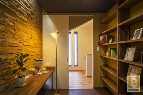 ちょっとカッコイイ男の隠れ家的書斎のある新築注文住宅