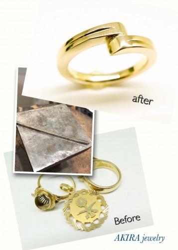 溶かして作る指輪