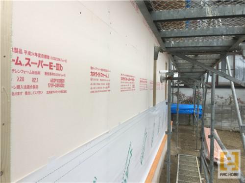 ☆新築戸建物件☆札幌市建築中現場情報を更新!断熱・FDシート