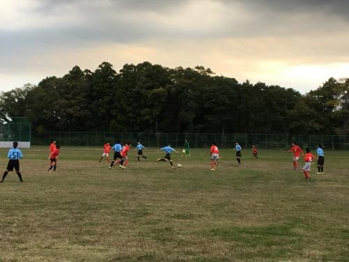 U13・LADIES 練習試合vsFC ROSA