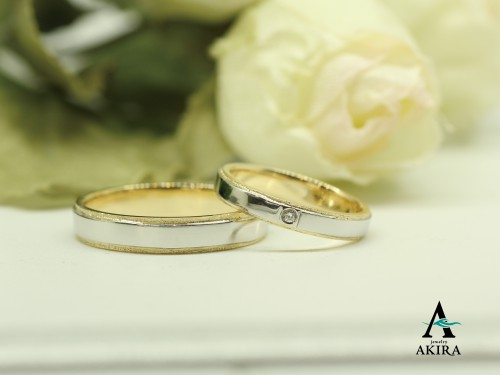 拘りの結婚指輪ならオーダーメイドのアキラジュエリーへ
