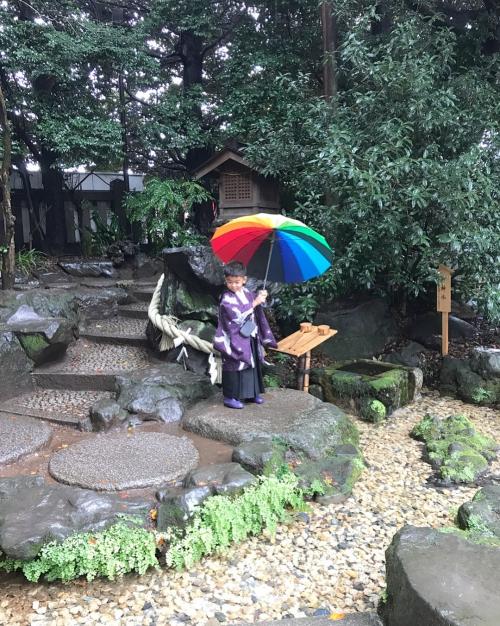 七五三 川越氷川神社 に行ってきました