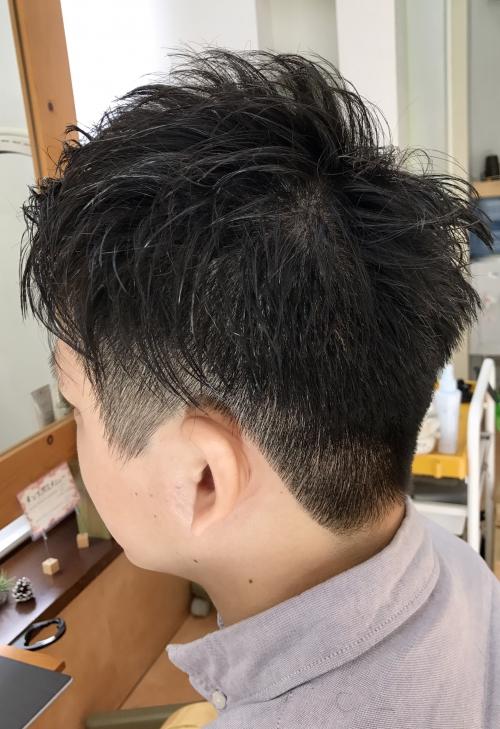 メンズポイントパーマカット☆ 調布美容院