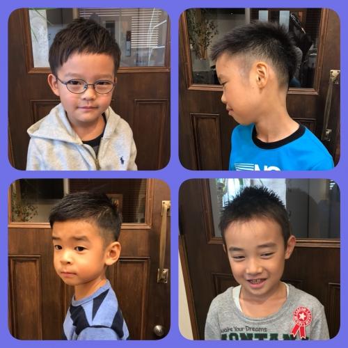 お子様カット  キッズカット 男の子 子供 髪型