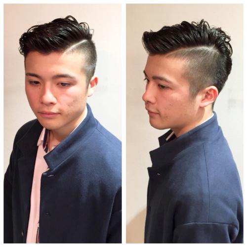 メンズ ソフトフェードスタイル 髪型 刈り上げ